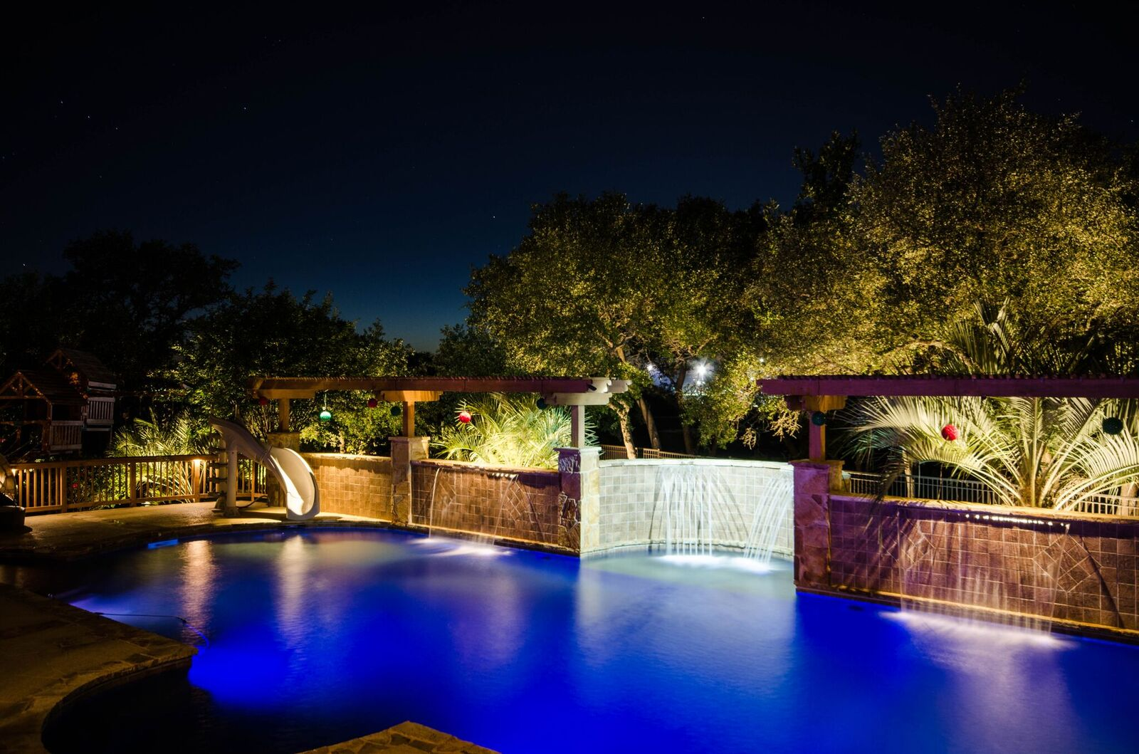 2017 lighting awards the association of outdoor lighting residential large lighting joel mayor clvlt texas outdoor lighting project avery ranch mozeypictures Image collections