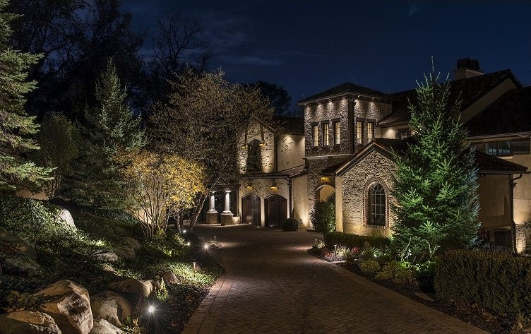Residential XL Lighting Tim Ryan CLVLT Lighthouse Outdoor Lighting of Indianapolis Project Midwest Mediterranean & 2018 Lighting Awards u2013 The Association of Outdoor Lighting ...